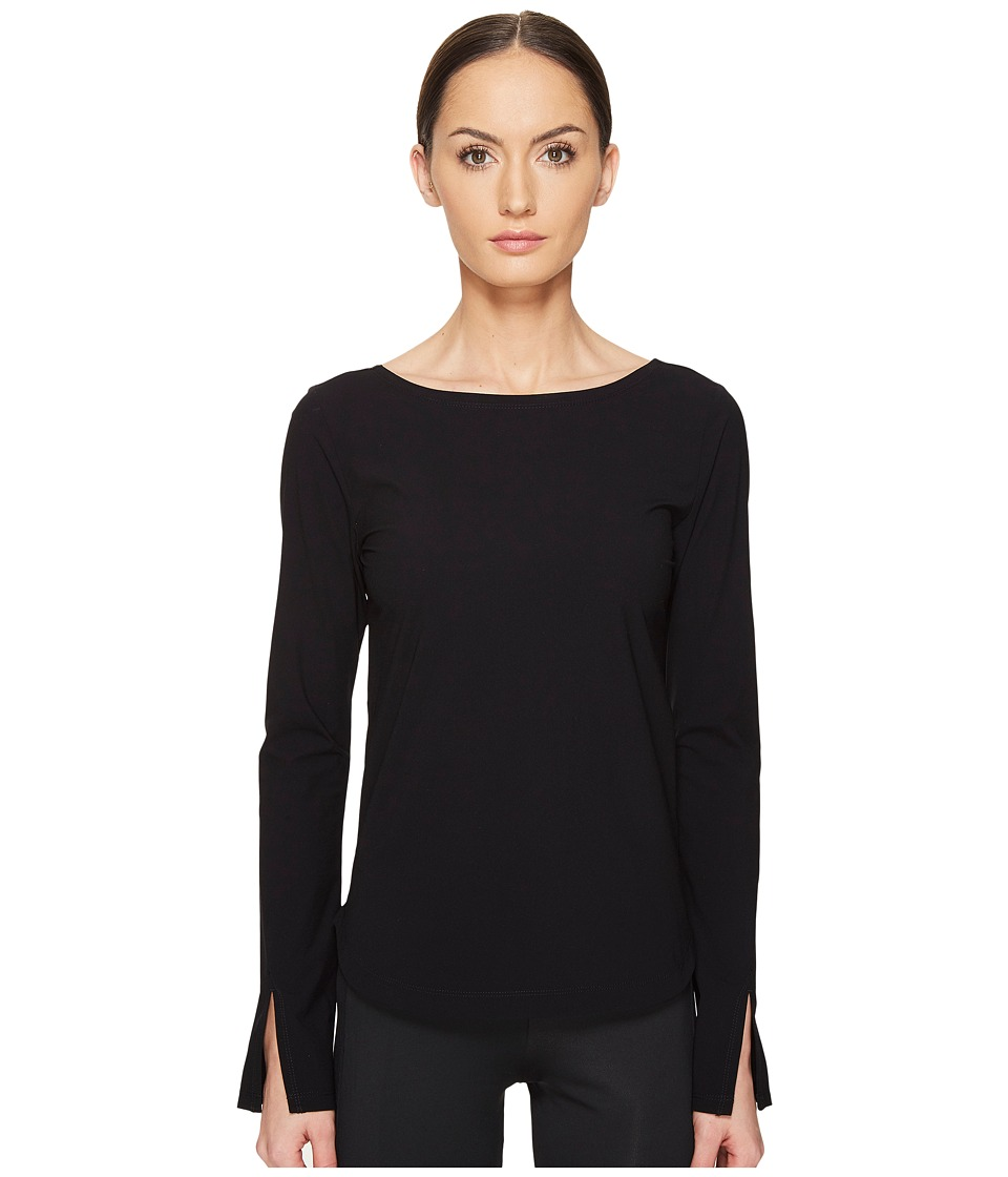 adidas Y-3 by Yohji Yamamoto - Light J Top (Black) Women's Clothing