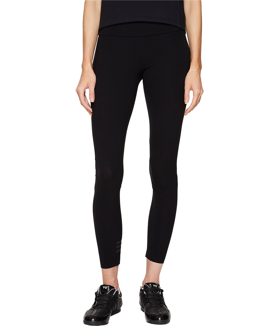 adidas Y-3 by Yohji Yamamoto - Light J Leggings (Black) Women's Casual Pants