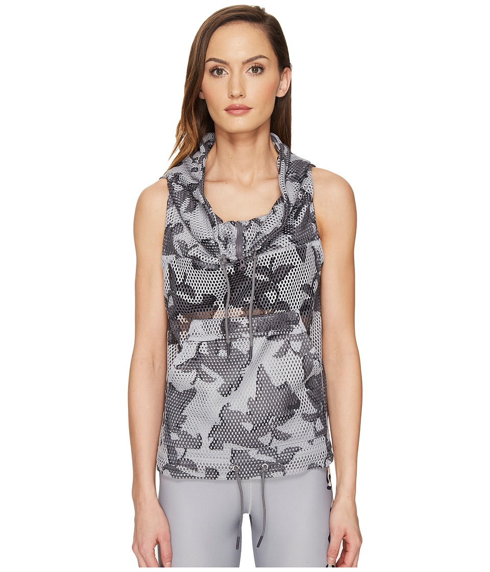 adidas by Stella McCartney - Flower Gilet S97441 (Ice Grey/Granite/Solid Grey) Women's Clothing
