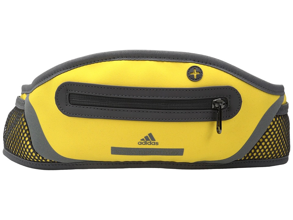 adidas by Stella McCartney - Run Belt (Wonder Glow/Granite/Gun Metal) Bags