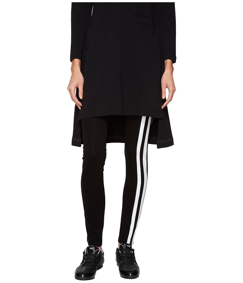 adidas Y-3 by Yohji Yamamoto - Light Track Leggings (Black) Women's Casual Pants