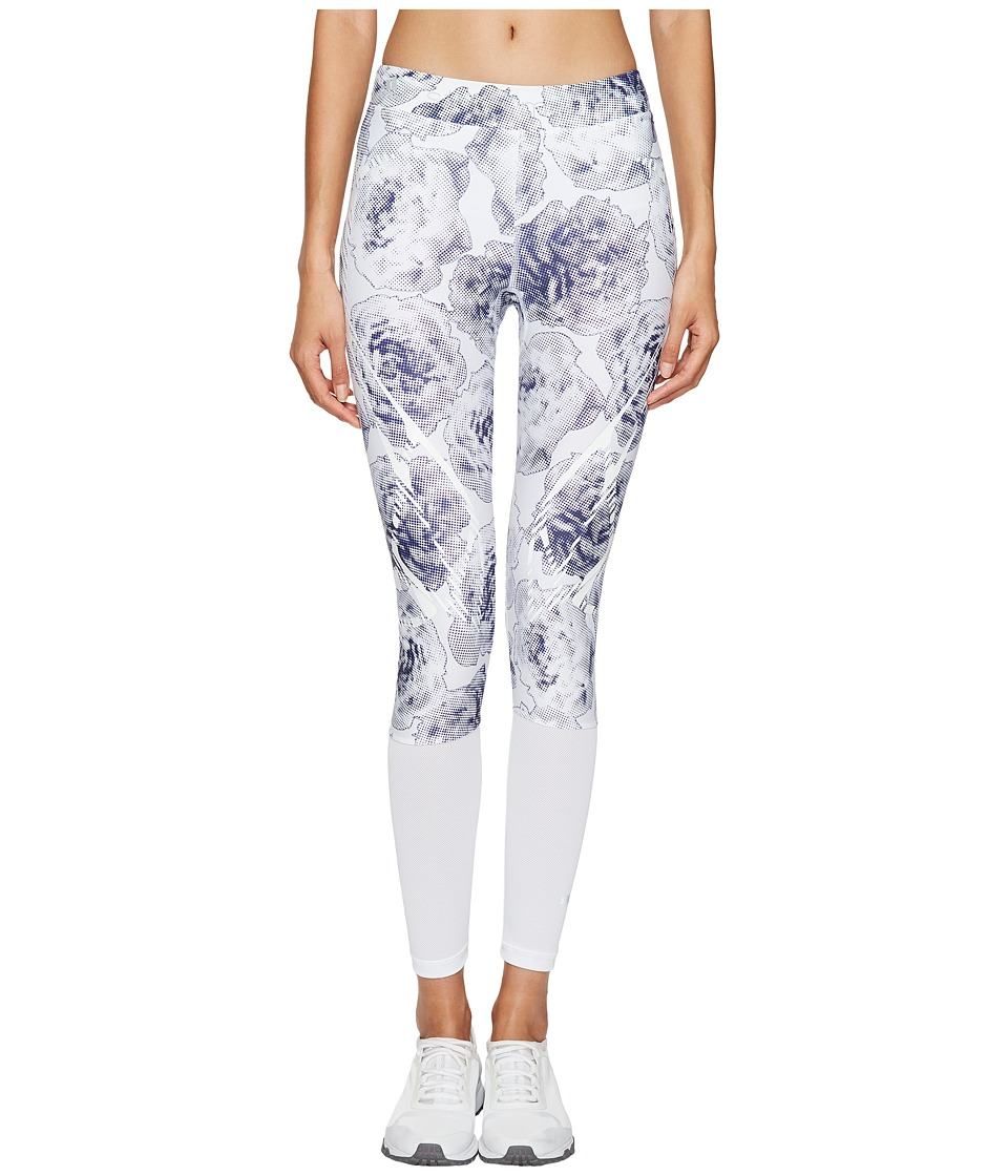 adidas by Stella McCartney - Run Sprintweb Tights S99227 (White/Noble Ink) Women's Workout
