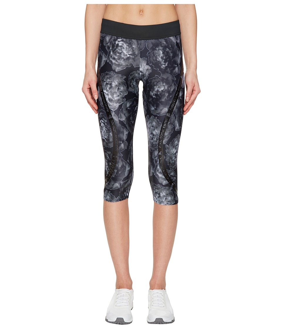 adidas by Stella McCartney Run Climalite 3/4 Tights Printed S99231 (Black) Women