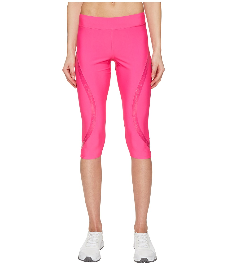 adidas by Stella McCartney - Run Climalite 3/4 Tights S99228 (Shock Pink) Women's Workout