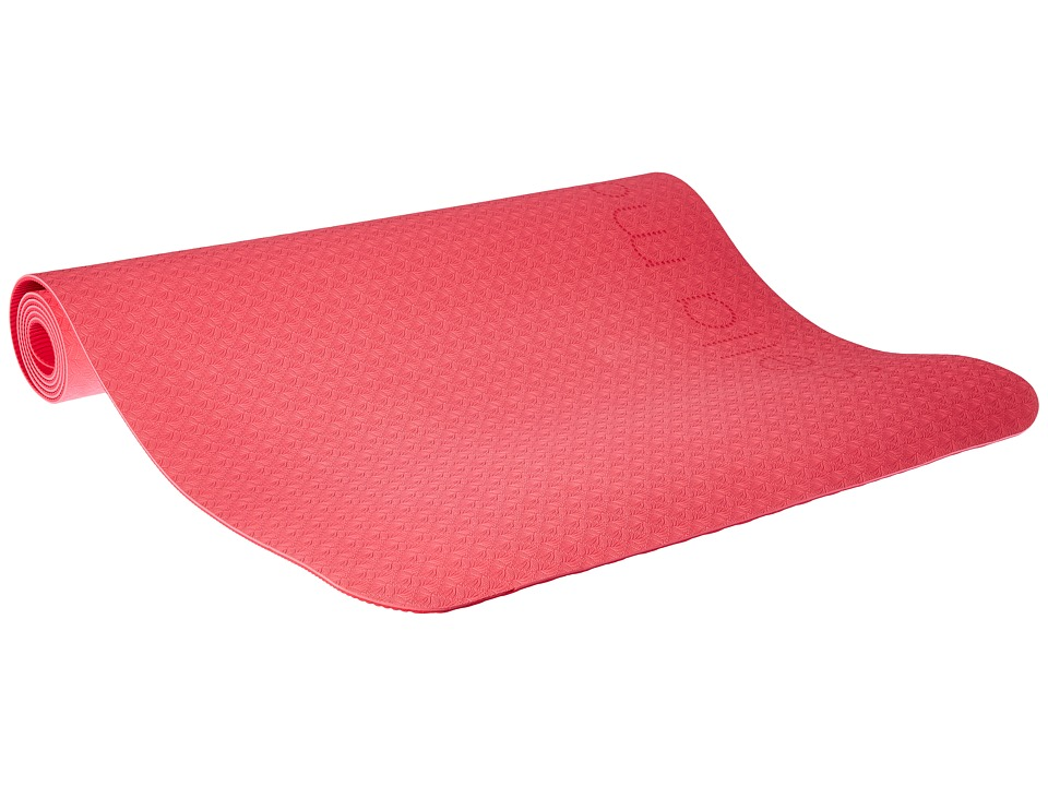 adidas by Stella McCartney - Yoga Mat (Shock Pink/Ruby Red/Light Solid Grey/White) Athletic Sports Equipment