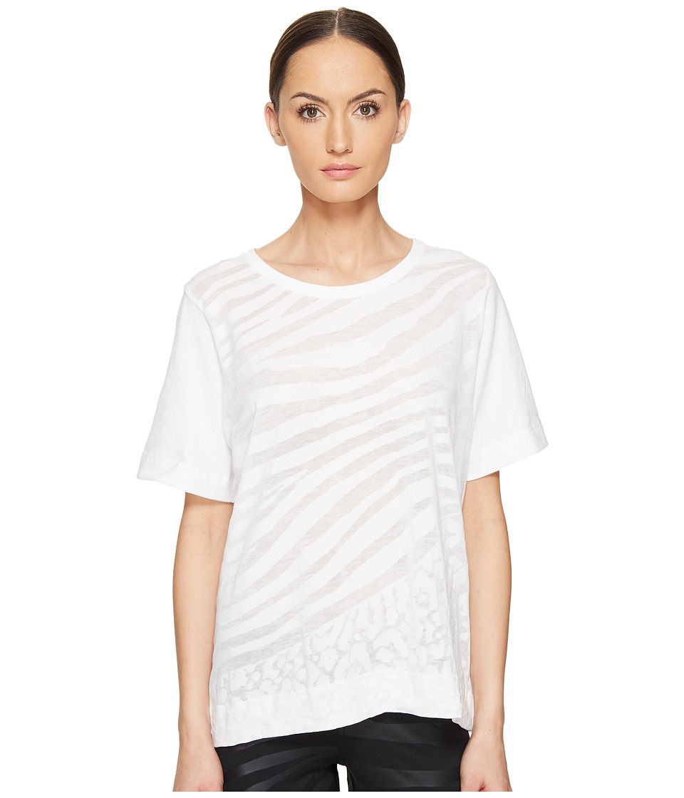 adidas by Stella McCartney - Climalite Exclusive Tee S96906 (White) Women's T Shirt