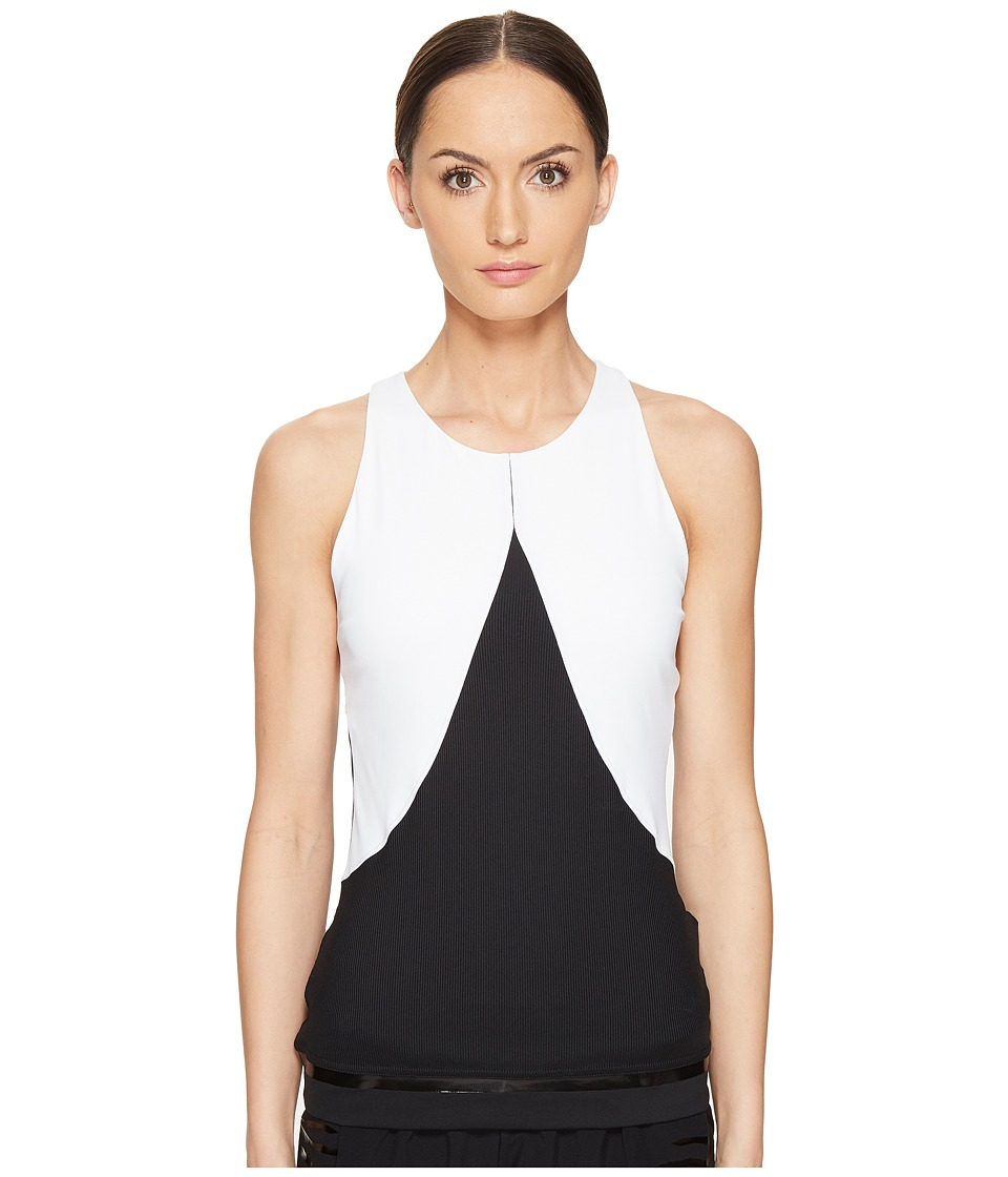 adidas by Stella McCartney - Training Tank Top S99880 (White/Black) Women's Sleeveless