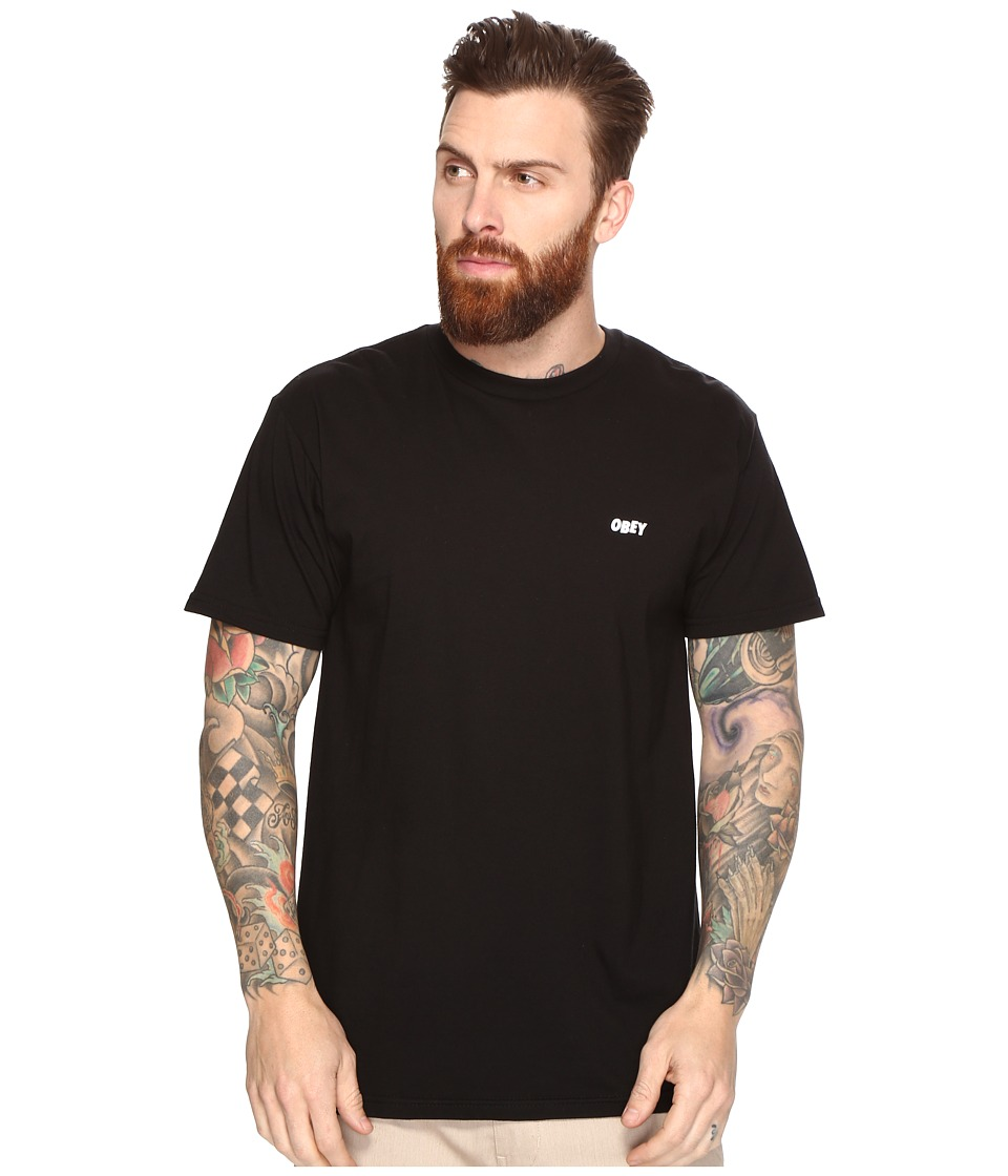 Obey - Suckers Inc. Tee (Black) Men's T Shirt