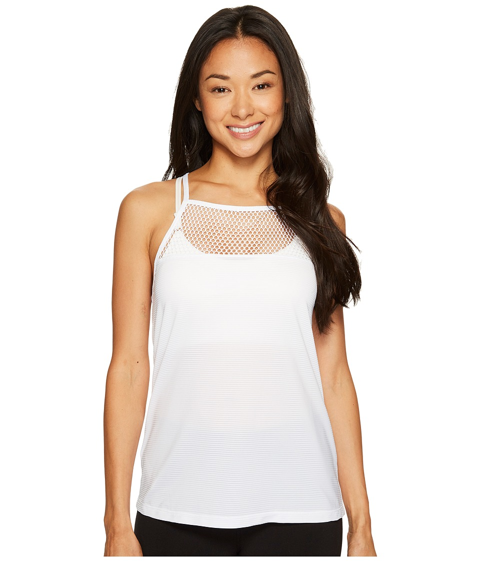 Lorna Jane Execute Active Tank Top (White) Women
