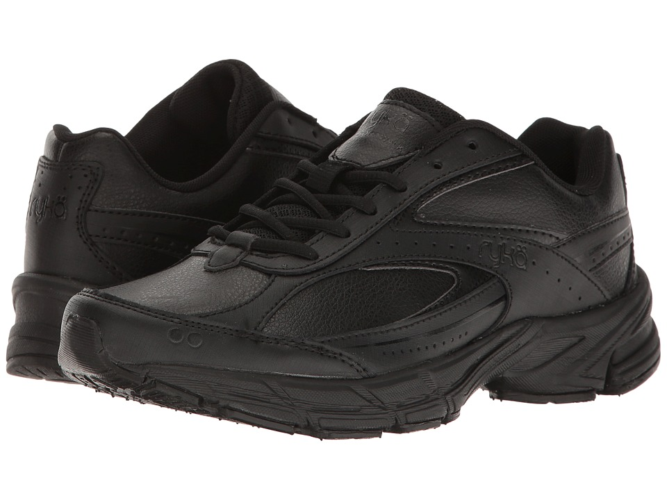Ryka - Comfort Walk (Black/Black) Women's Shoes