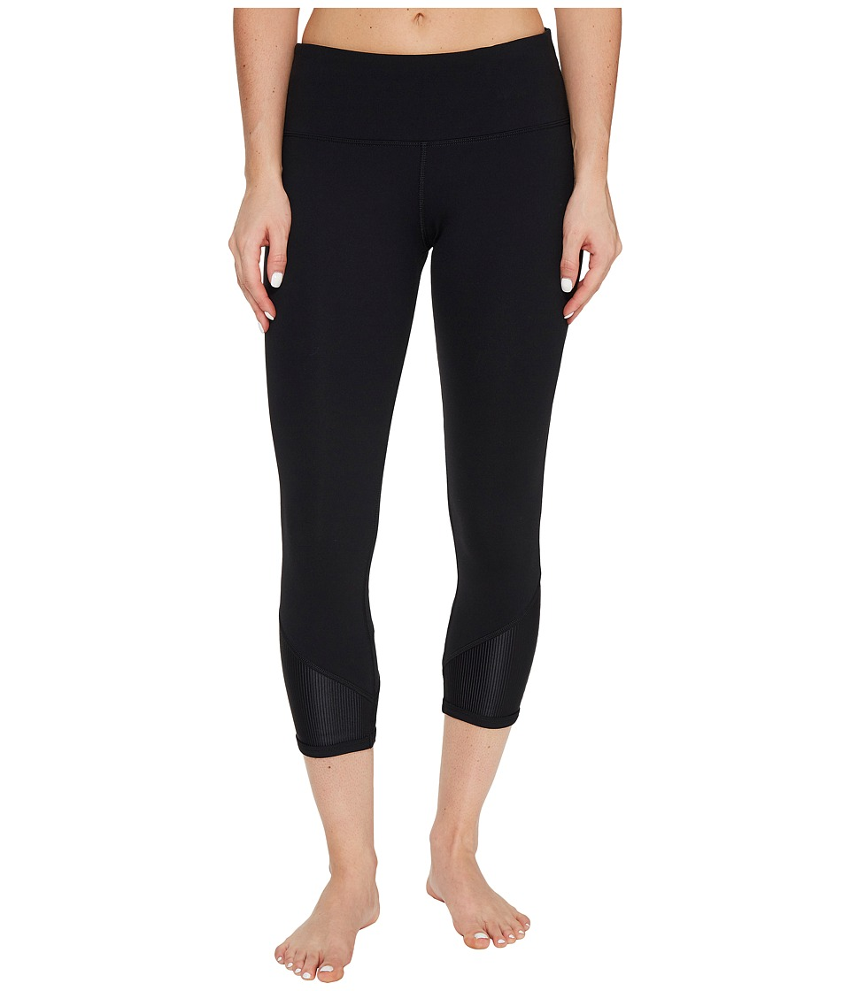 Lorna Jane - In the Detail Core 7/8 Tights (Black) Women's Casual Pants