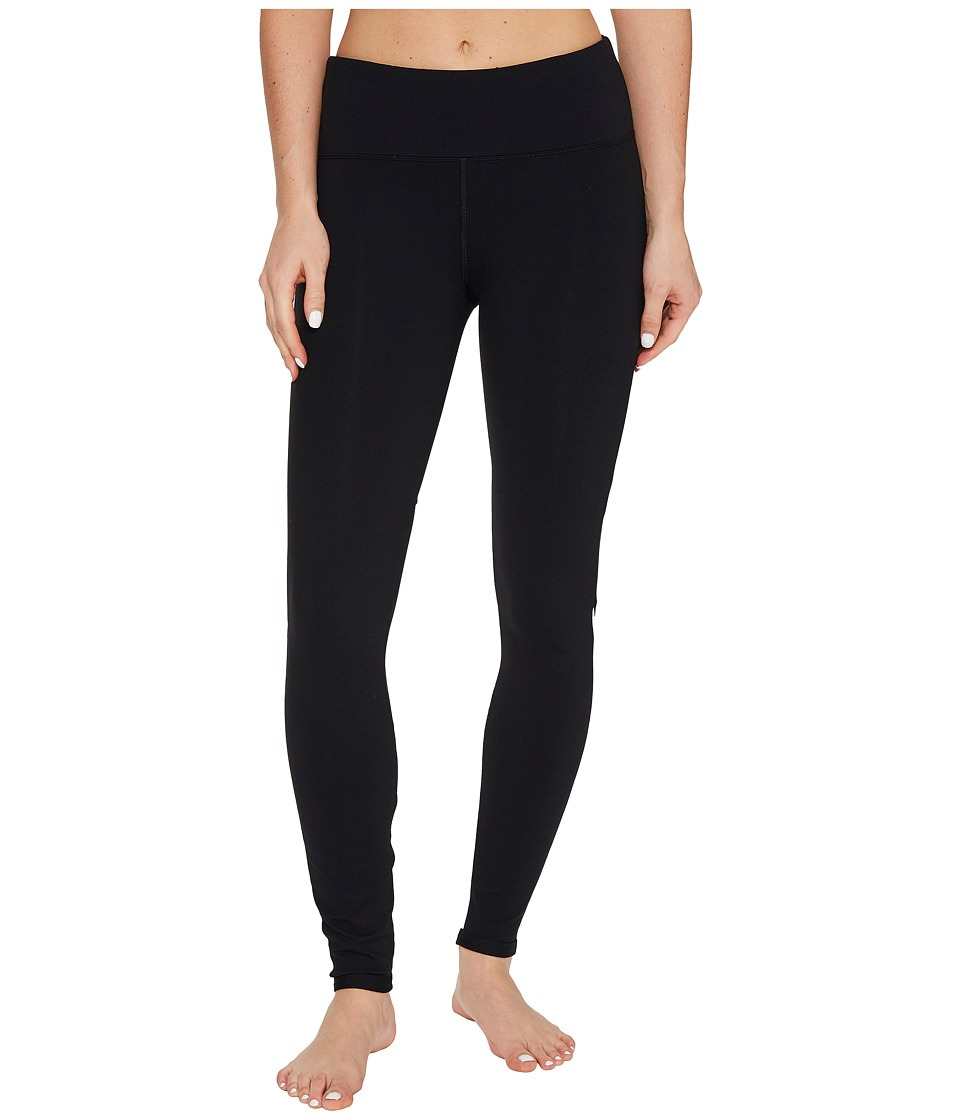 Lorna Jane - Action Core F/L Tights (Black/White) Women's Casual Pants