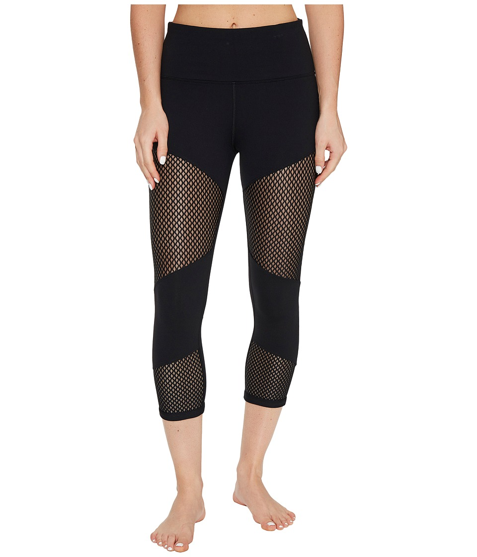 Lorna Jane - Energised Core 7/8 Tights (Black) Women's Casual Pants