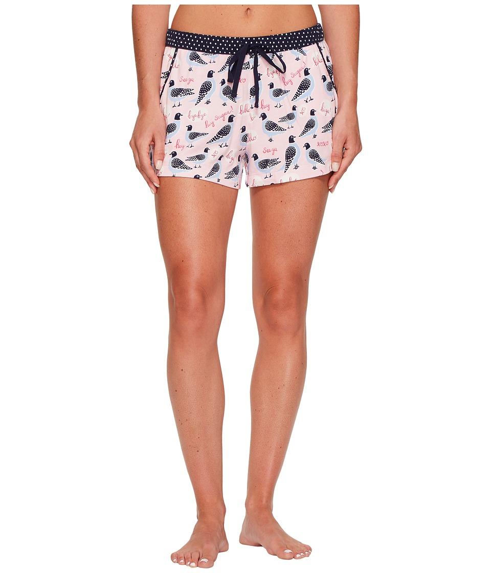 Jane & Bleecker - Novelty Printed Knit Pajama Shorts (City Pigeons) Women's Pajama