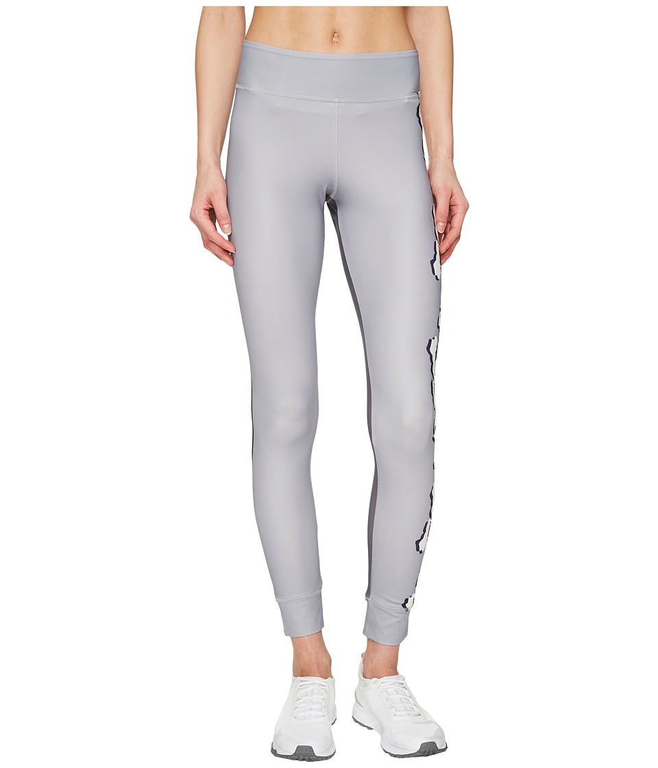 adidas by Stella McCartney - Yoga Flower Tights S96892 (Ice Grey/Granite) Women's Workout