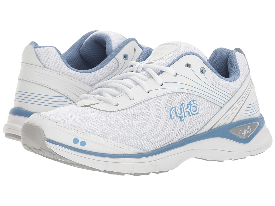 Ryka - Regina (White/Blue/Silver) Women's Shoes