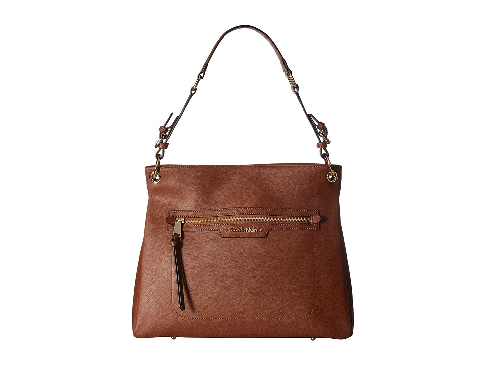Calvin Klein - Key Items Saffiano Hobo (Luggage) Hobo Handbags
