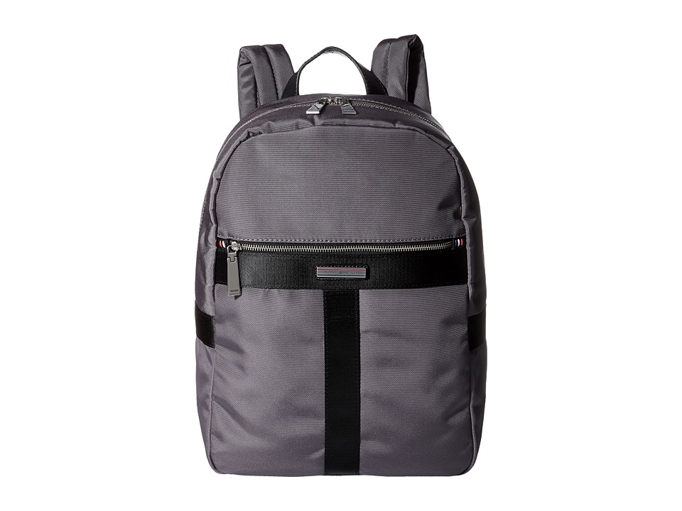 Tommy Hilfiger Darren Backpack Codura Nylon (Anthracite) Backpack Bags