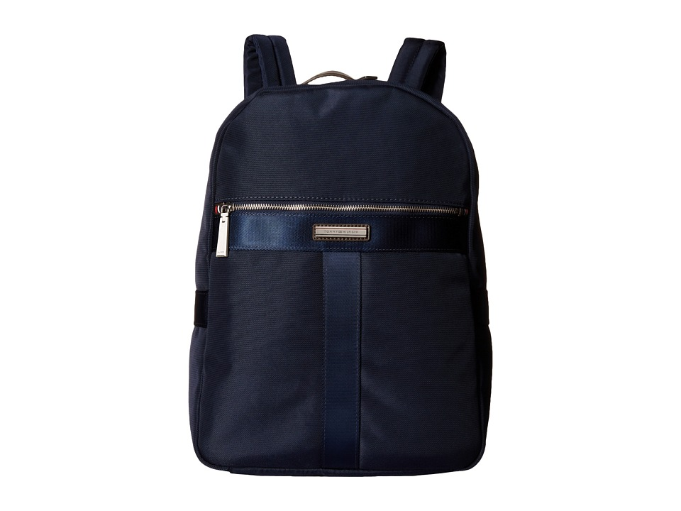 Tommy Hilfiger Darren Backpack Codura Nylon (Navy) Backpack Bags