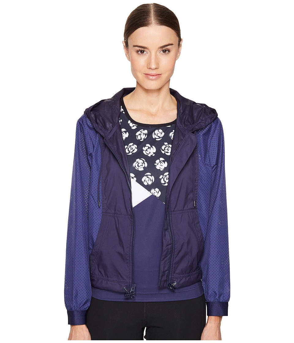 adidas by Stella McCartney - Essentials Track Top S99245 (Plum/Noble Ink) Women's Long Sleeve Pullover