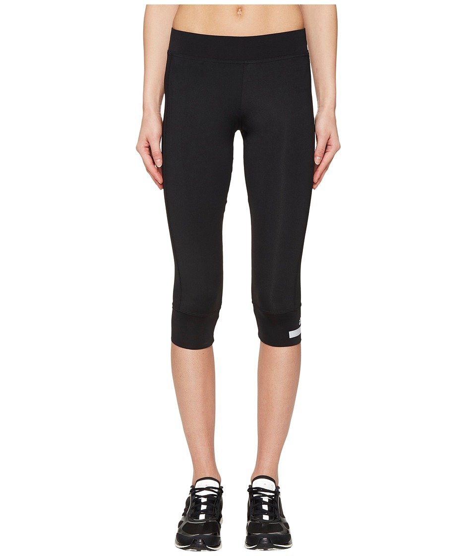 adidas by Stella McCartney - The Performance 3/4 Tights S99065 (Black) Women's Workout