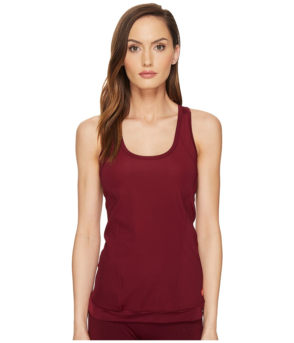 adidas by Stella McCartney - The Performance Tank Top S99070 (Cherry Wood) Women's Sleeveless