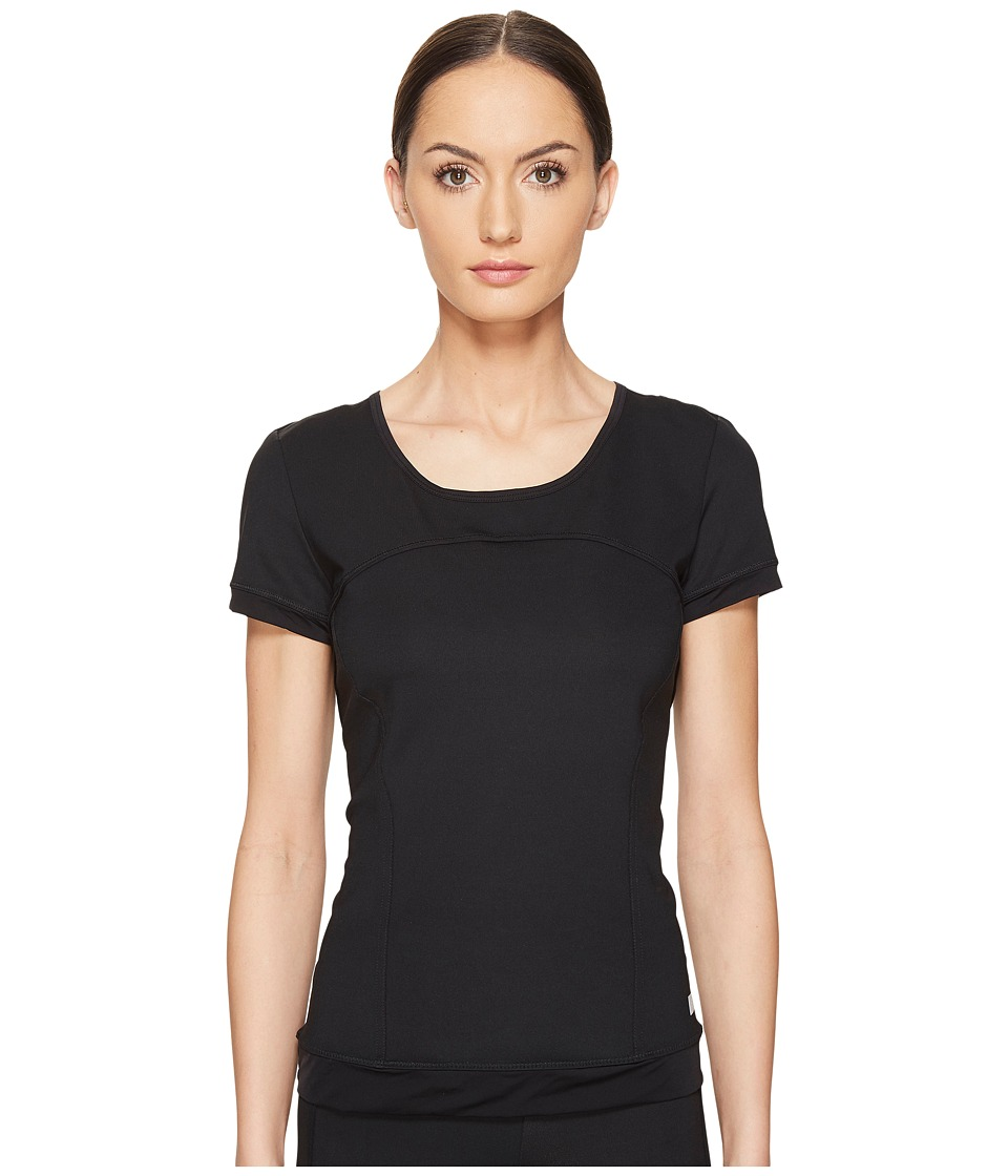 adidas by Stella McCartney - The Performance Tee S99073 (Black) Women's T Shirt