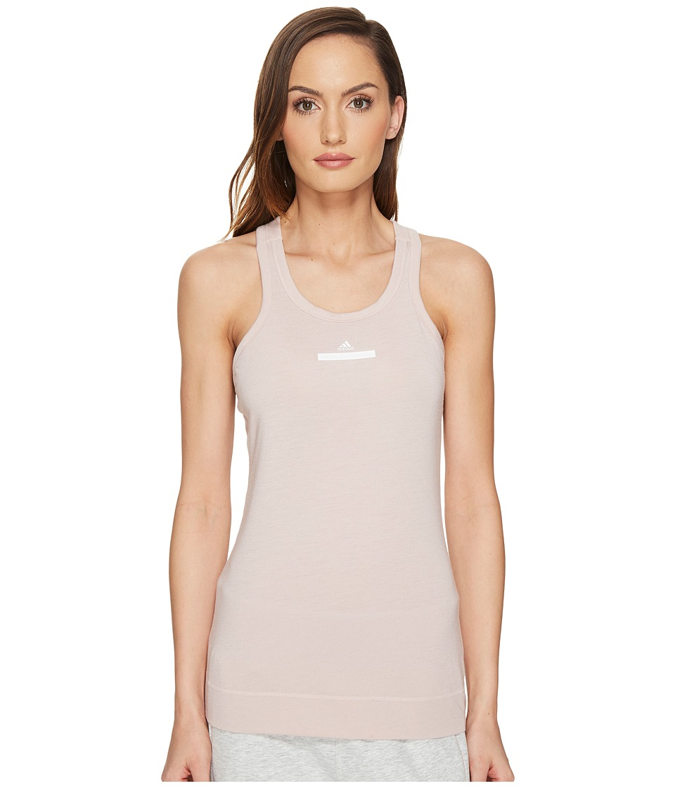 adidas by Stella McCartney The Racer Tank Top S96876 (New Rose) Women