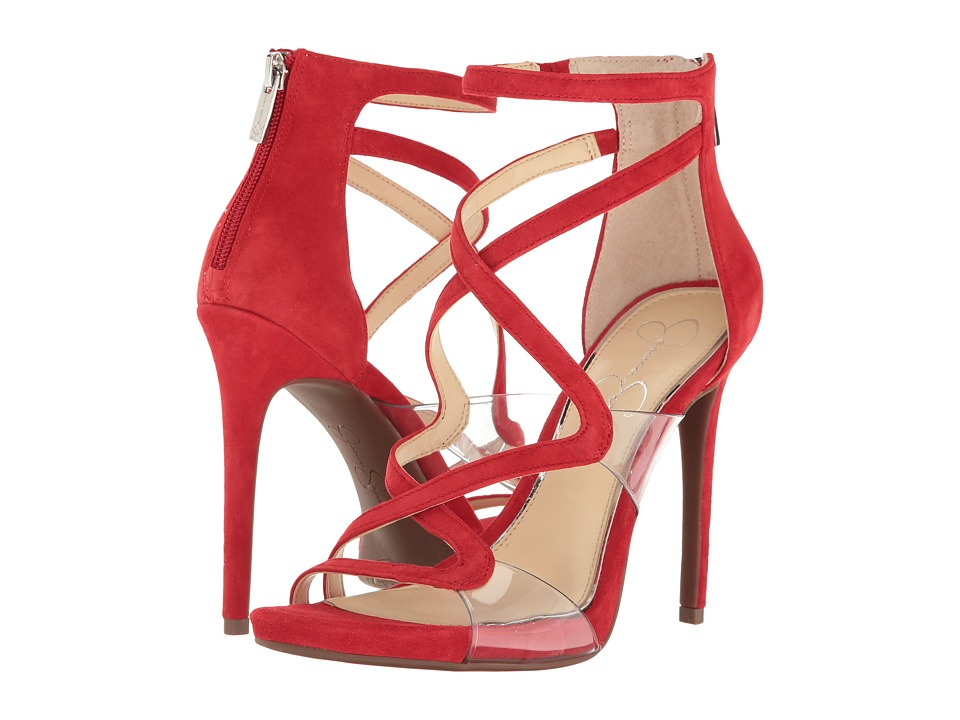 Jessica Simpson - Roelyn (Red Muse Kid Suede) Women's Shoes