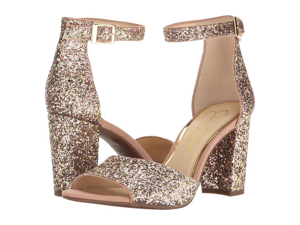 Jessica Simpson - Sherron 2 (Champagne Multi Chucky Glitter) Women's Shoes