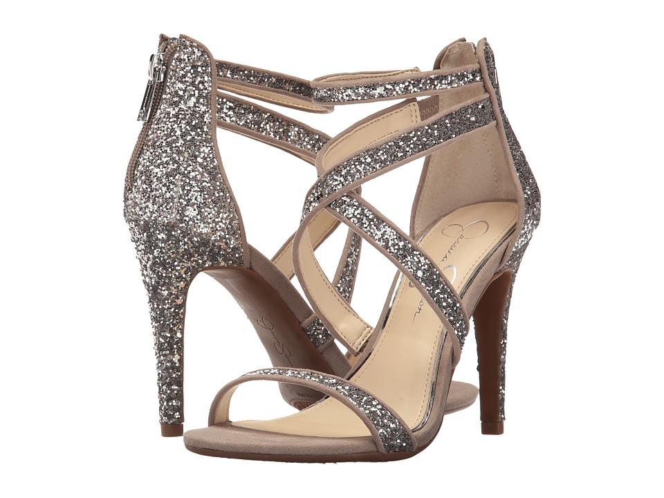 Jessica Simpson - Ellenie 2 (Moon Grey Chucky Glitter) Women's Shoes