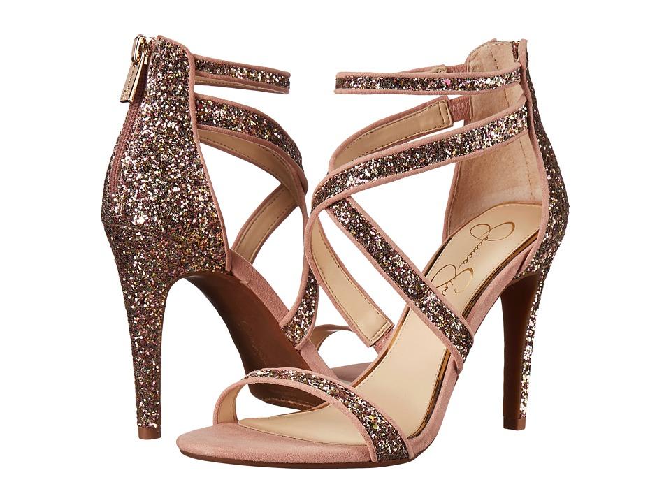 Jessica Simpson - Ellenie 2 (Champagne Multi Chucky Glitter) Women's Shoes