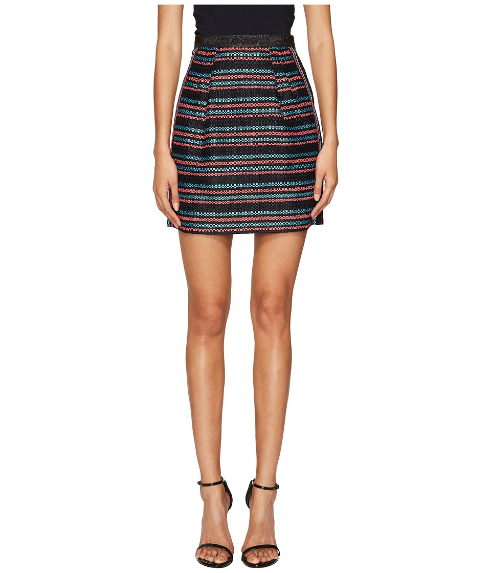 Sonia Rykiel - Tweed Skirt (Multicolor Stripe) Women's Skirt