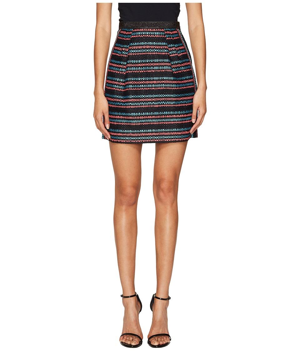 Sonia by Sonia Rykiel - Tweed Skirt (Multicolor Stripe) Women's Skirt