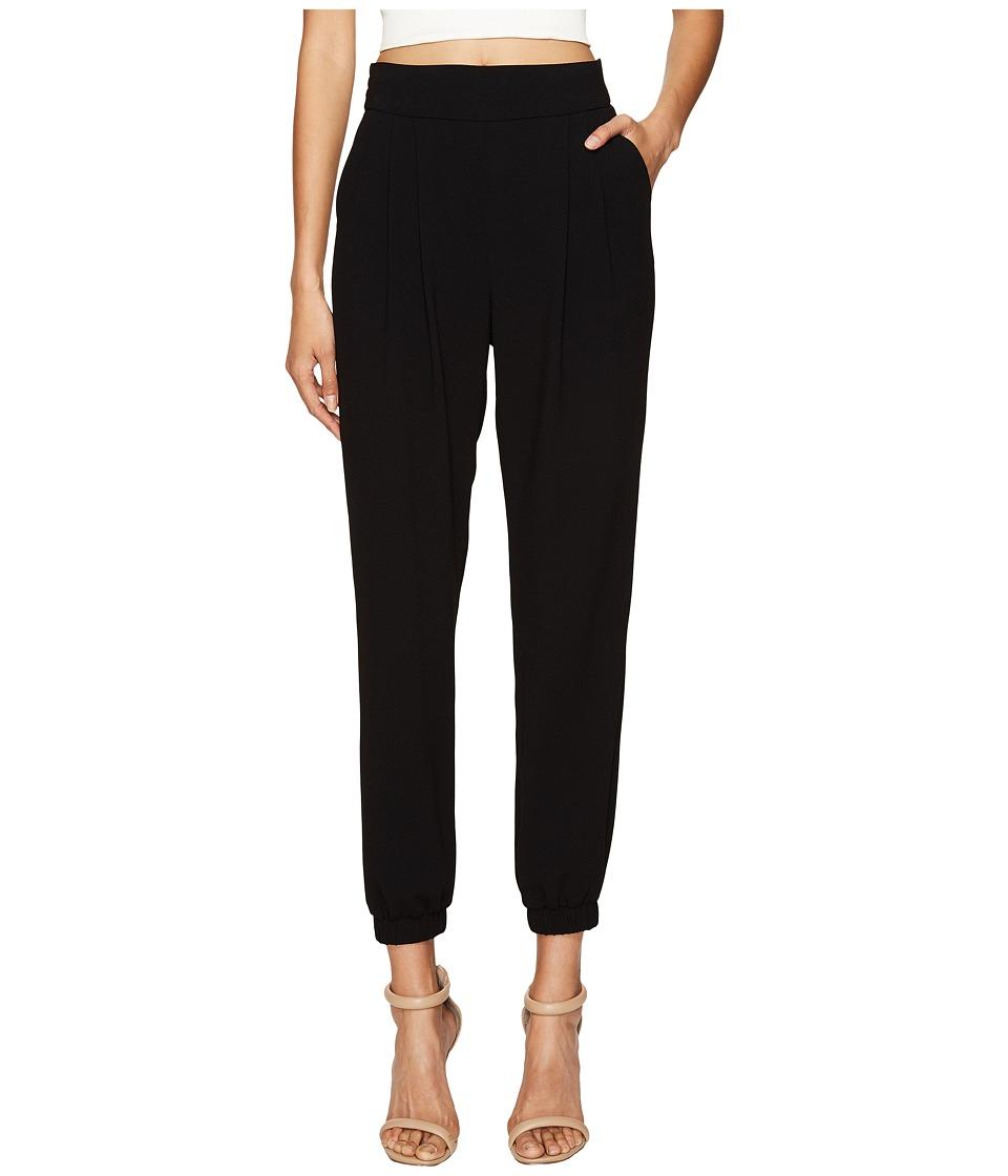 Sonia by Sonia Rykiel - Fluid Crepe Pants (Black) Women's Casual Pants