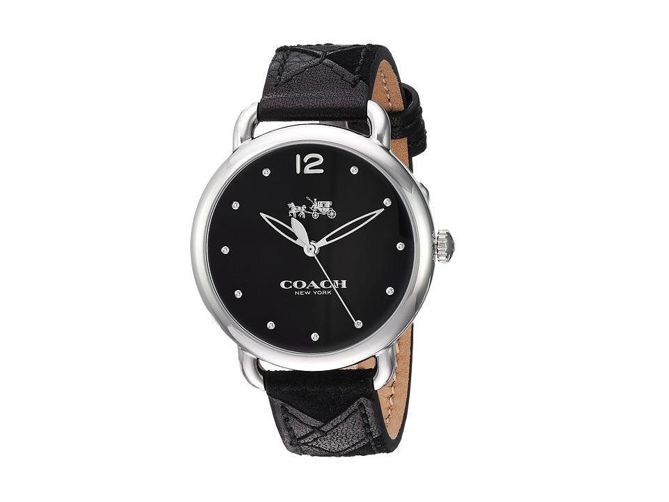 COACH - Delancey - 14502713 (Black) Watches