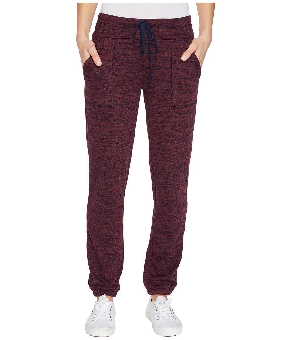Threads 4 Thought - Ingra Sweatpants (Plum Wine/Navy) Women's Clothing