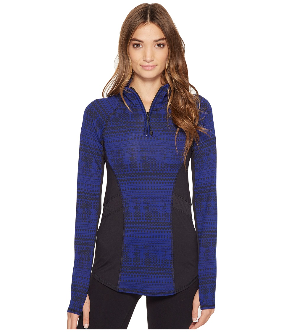 Threads 4 Thought Runa Pullover (Electric Blue/Black) Women