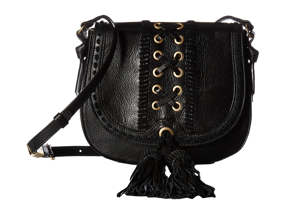 Foley & Corinna - Sarabi Saddle Bag (Black) Bags