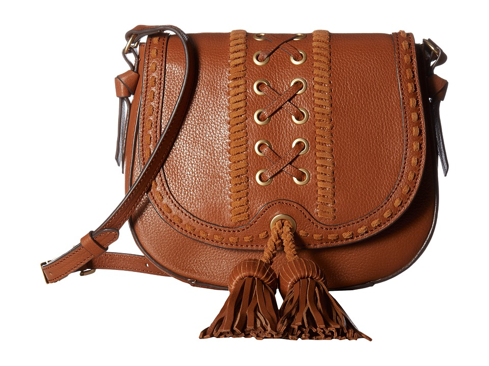 Foley & Corinna - Sarabi Saddle Bag (Honey Brown) Bags