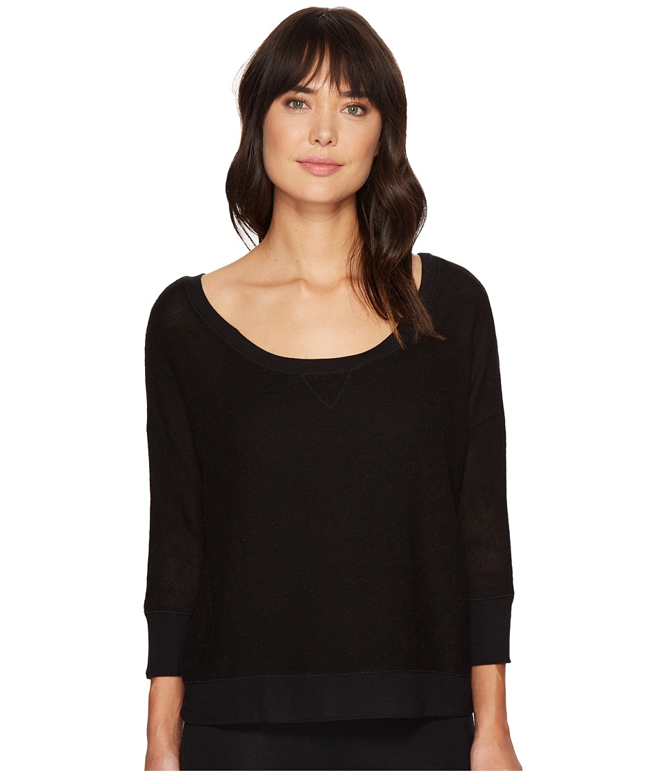 Threads 4 Thought - Jemma Pullover (Jet Black) Women's Clothing