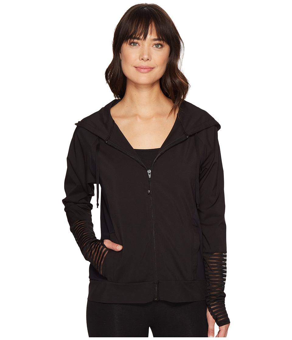 Threads 4 Thought - Pisces Hoodie (Jet Black) Women's Jacket