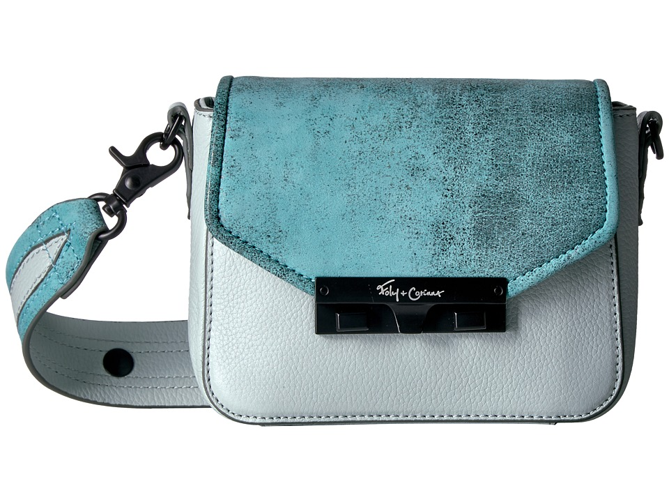 Foley & Corinna - Isla Crossbody (Caribbean Blue) Cross Body Handbags