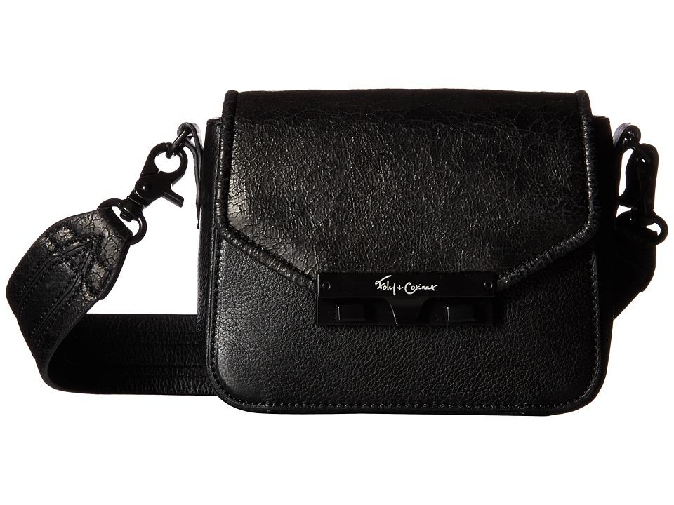 Foley & Corinna - Isla Crossbody (Black) Cross Body Handbags