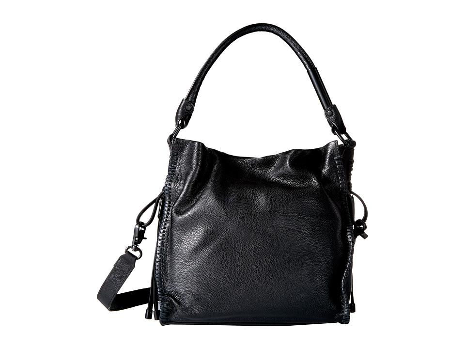 Foley & Corinna - Ami Drawstring Tote (Black) Tote Handbags