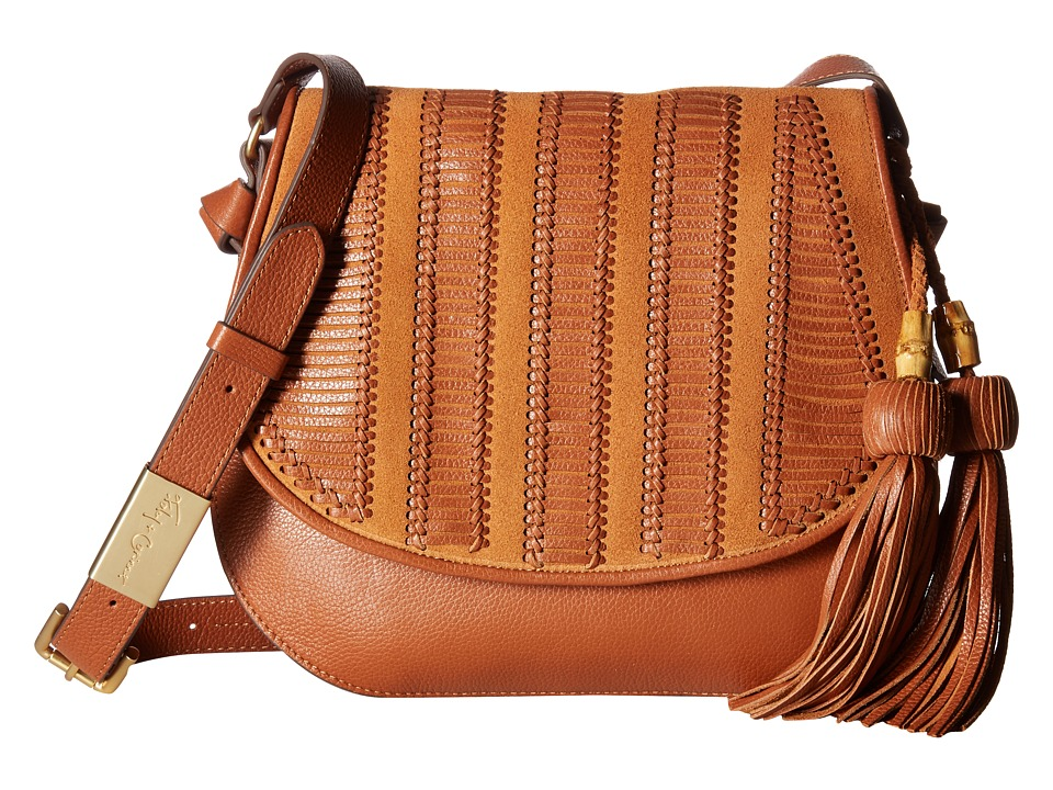 Foley & Corinna - Charlotte Saddle Bag (Brown) Bags
