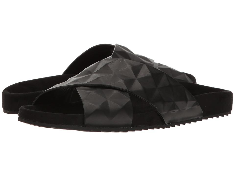 Rebecca Minkoff - Tammi (Black Shiny Calf) Women's Sandals