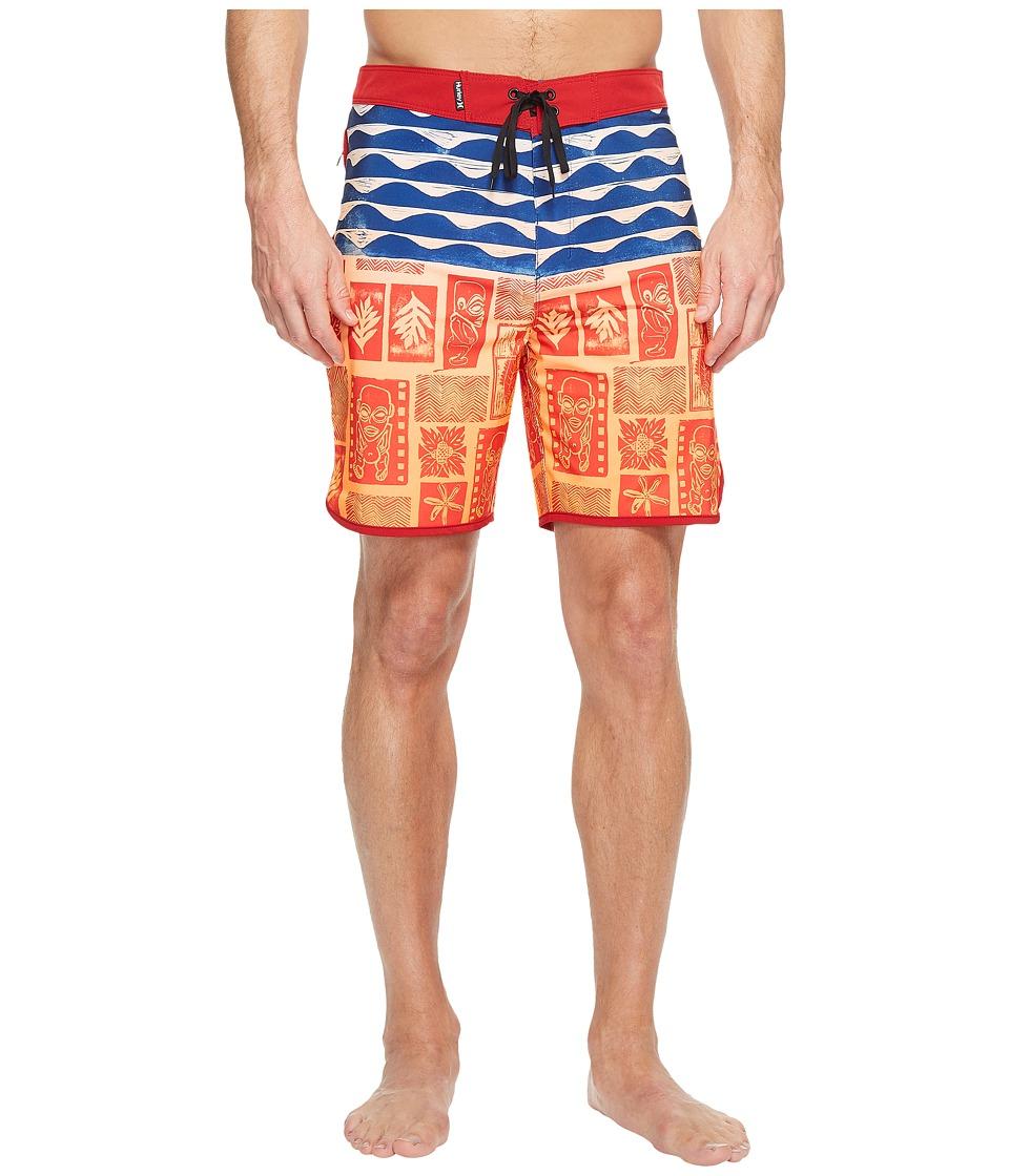 Hurley - Phantom Tahiti 18 Boardshorts (Multi) Men's Swimwear