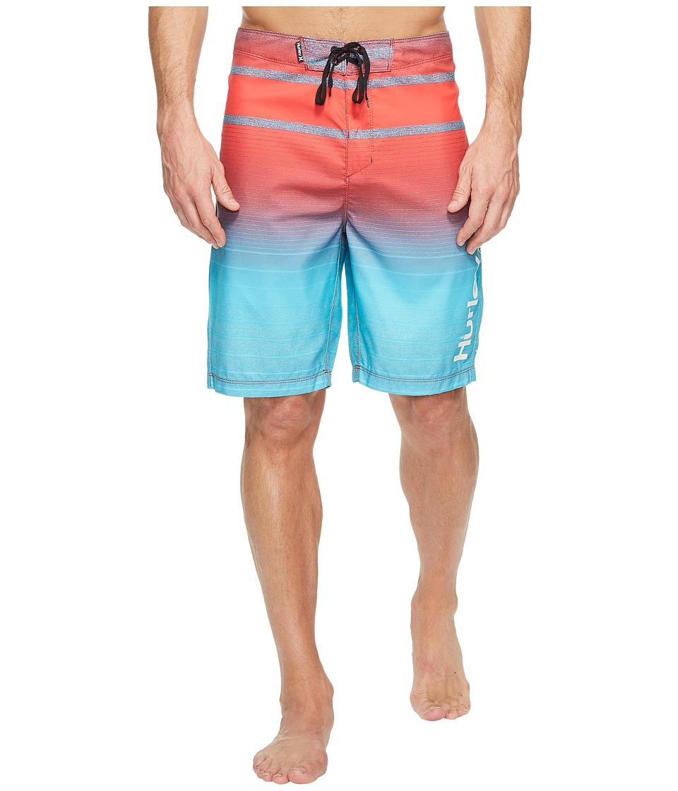 Hurley - Adams 21 Boardshorts (Chlorine Blue) Men's Swimwear