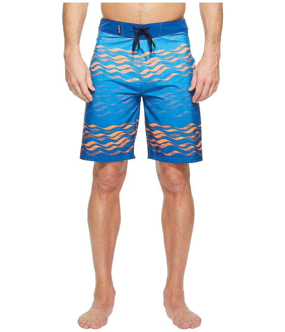 Hurley - Phantom Currents 20 Boardshorts (Gym Blue) Men's Swimwear